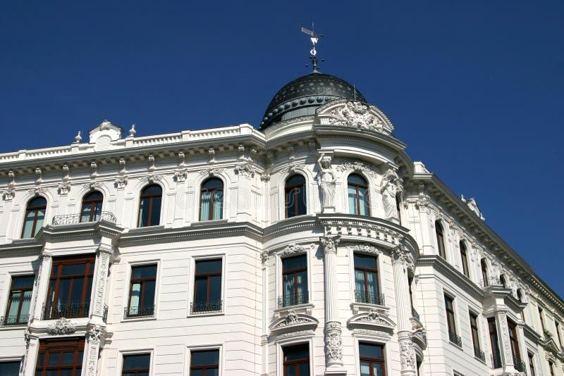 De historische bouw in Leipzig royalty-vrije stock fotografie