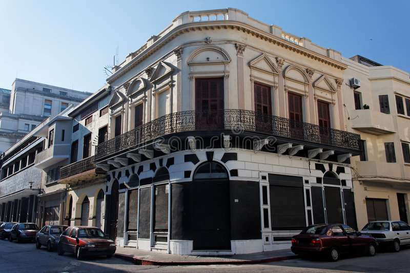 De historische Bouw Montevideo stock afbeeldingen