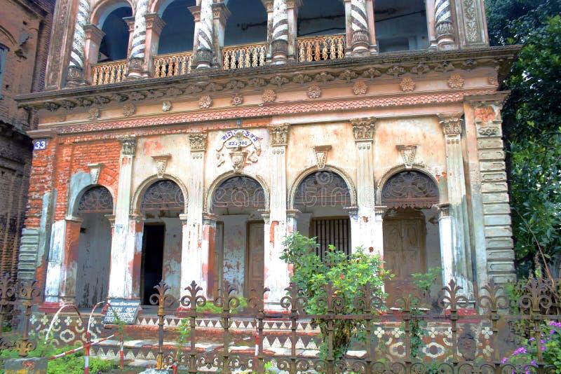 De historische bouw in panamstad royalty-vrije stock foto's