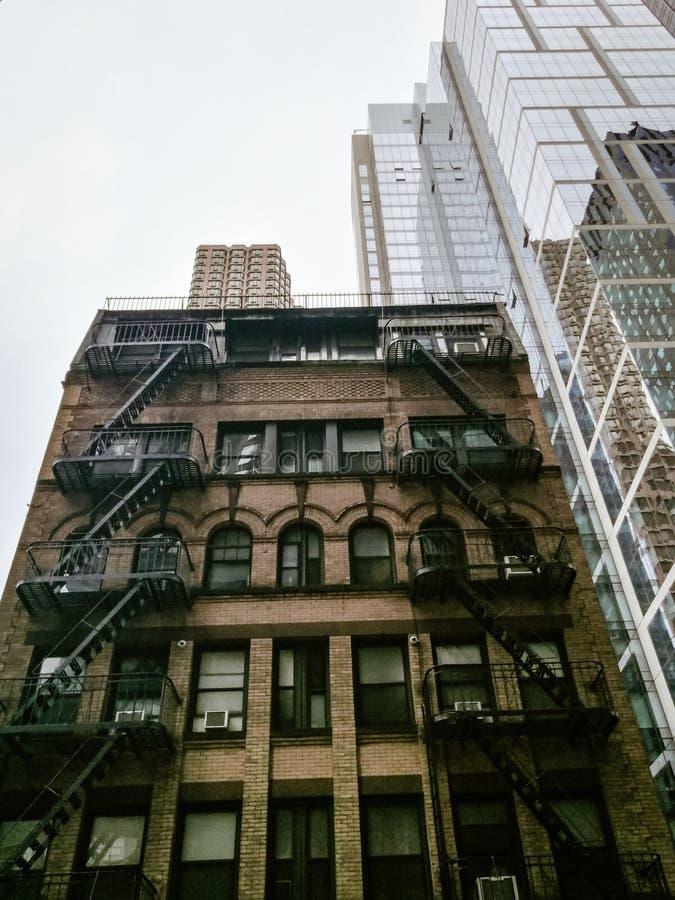 De historische bouw in de Stad de V.S. van New York stock foto's