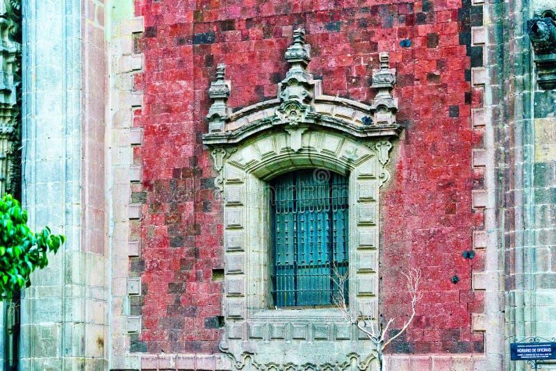 De historische Bouw van Mexico-City stock foto's