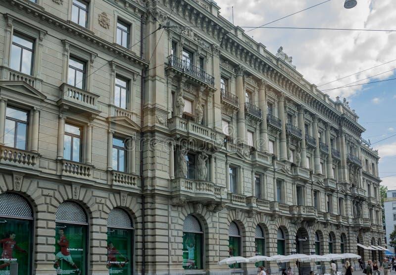 De Historische Bouw van Zürich Zwitserland stock foto's