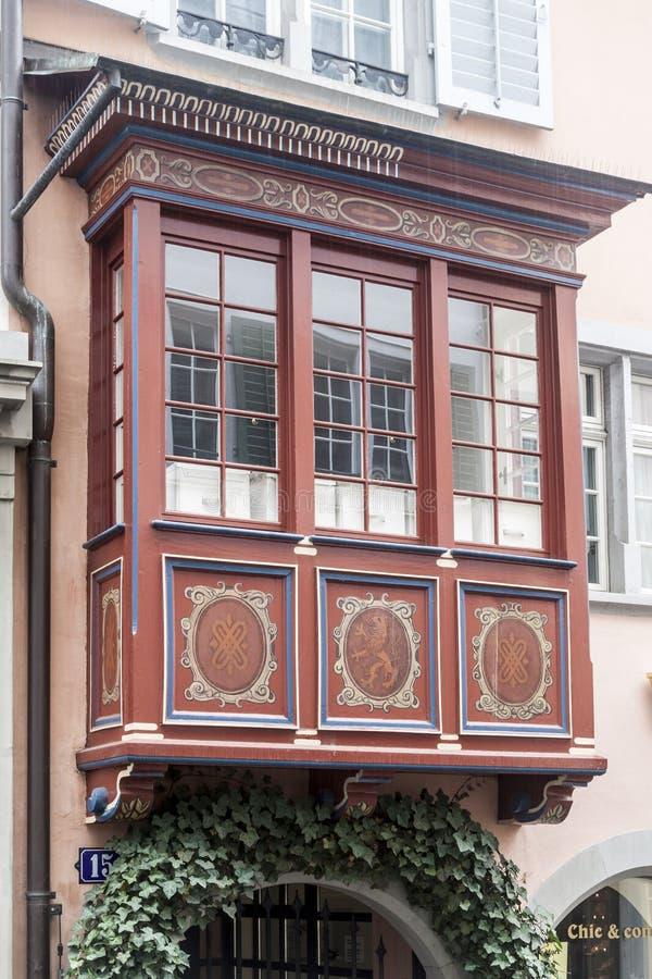 De Historische Bouw van Zürich Zwitserland royalty-vrije stock foto