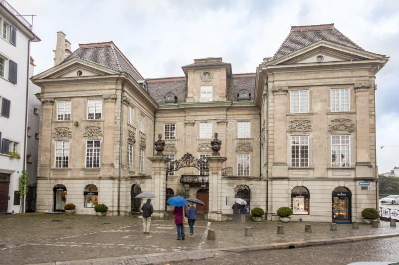 De Historische Bouw van Zürich Zwitserland royalty-vrije stock afbeeldingen