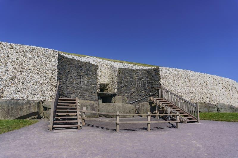 De historische Boyne-Vallei - Bru-Na Boinne stock afbeeldingen