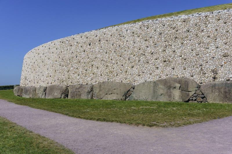De historische Boyne-Vallei - Bru-Na Boinne stock fotografie
