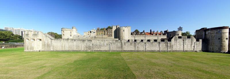De historische en mooie Toren van Londen royalty-vrije stock afbeeldingen