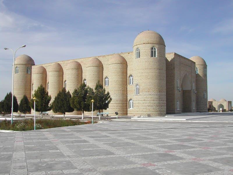 De historische grafBouw in Turkmenistan royalty-vrije stock afbeelding