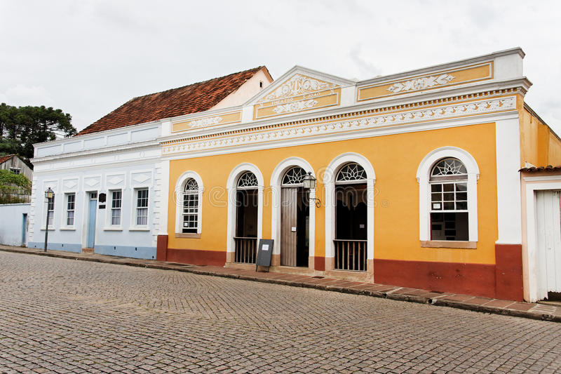 De Historische Huisvesting van Lapa stock afbeeldingen