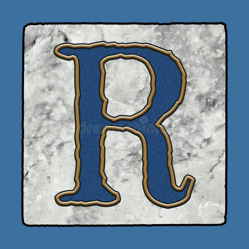 De historische Iconische Klassieke van de Straattegels van New Orleans van de de Stoepbrief van het Alfabetgrunge Aantallen & de  royalty-vrije illustratie