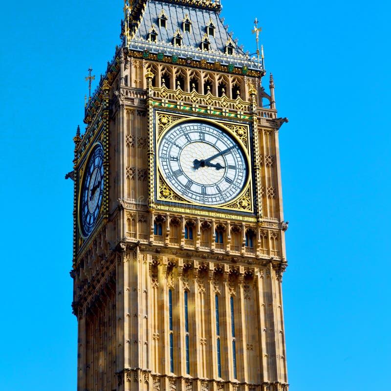 de historische oude bouw Engeland verouderd CIT van Londen de Big Ben stock fotografie