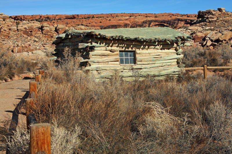De Historische plaats van de Boerderij van Wolfe stock fotografie