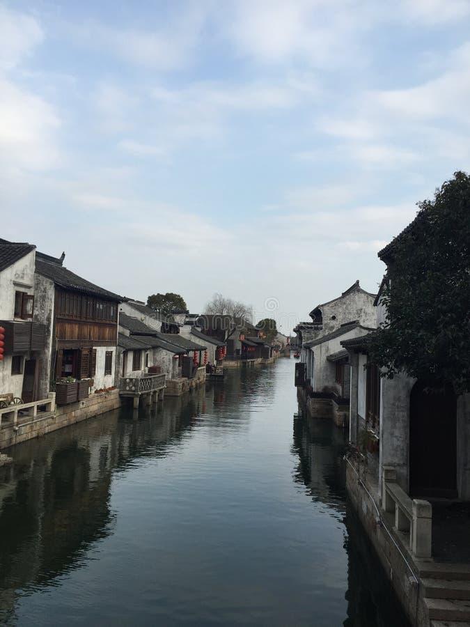 de Historische Stad van Dangkou royalty-vrije stock fotografie