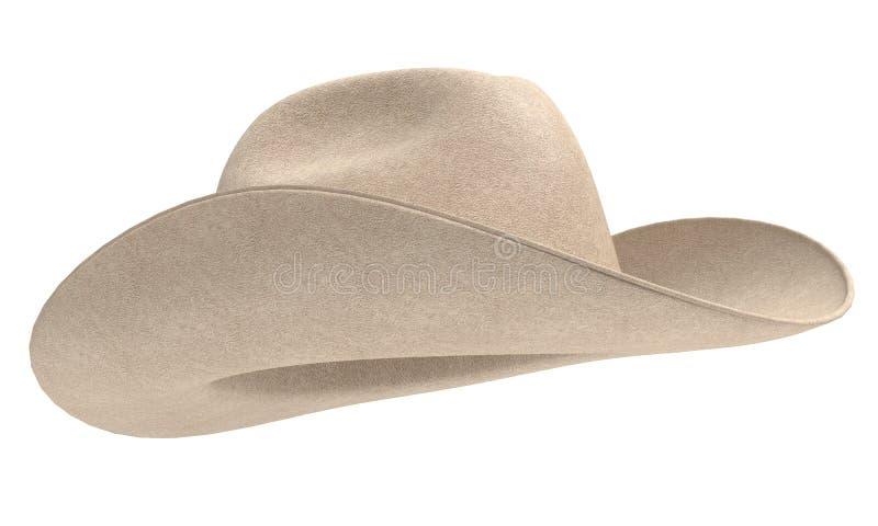 De hoed van de cowboy vector illustratie