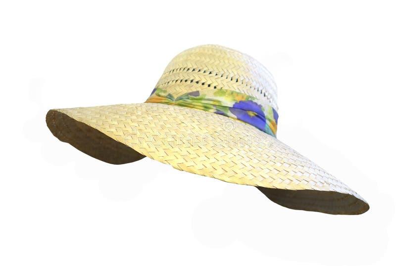 De hoed van de dame` s zomer royalty-vrije stock foto's