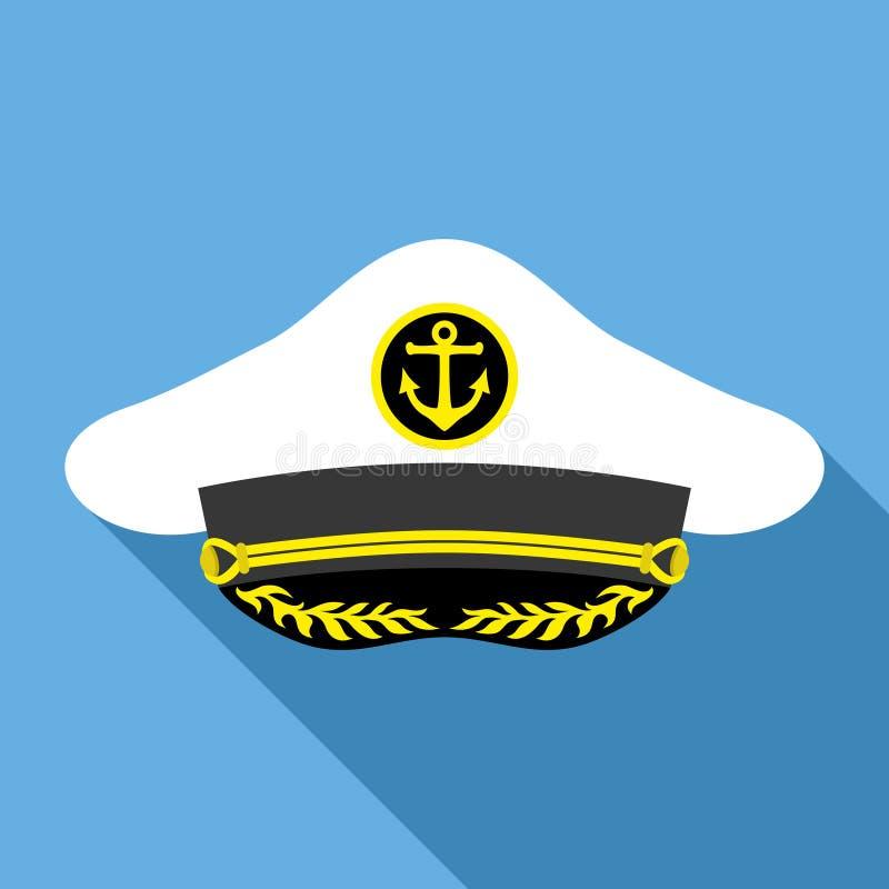 De Hoed van de kapitein royalty-vrije illustratie