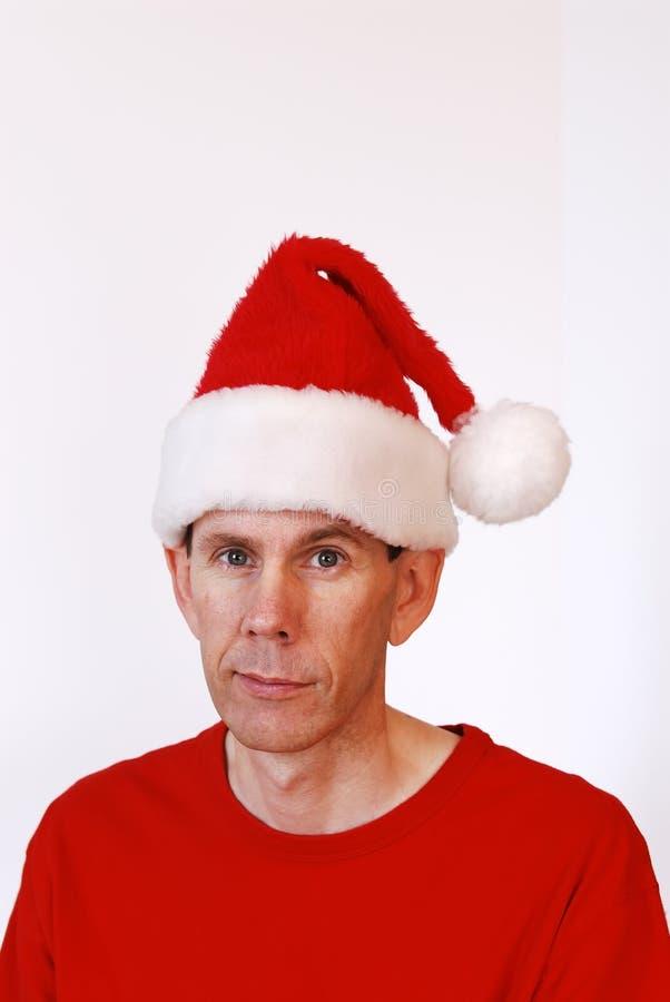 De Hoed van de kerstman royalty-vrije stock afbeeldingen