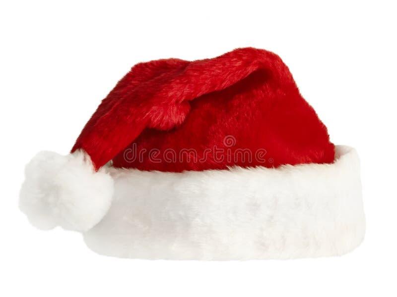 De hoed van de kerstman `s royalty-vrije stock fotografie