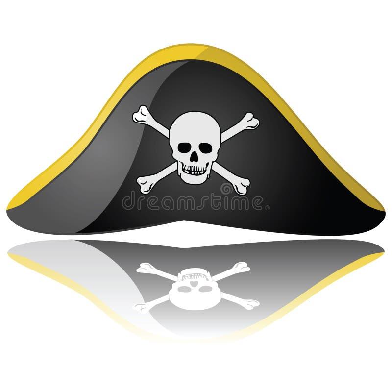 De hoed van de piraat vector illustratie