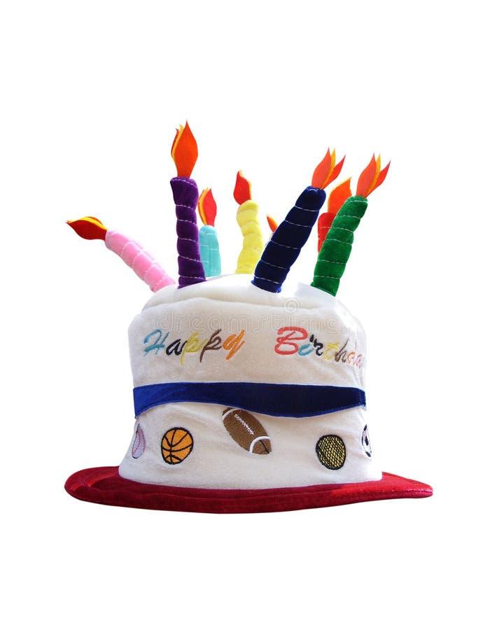 De hoed van de verjaardag stock foto's