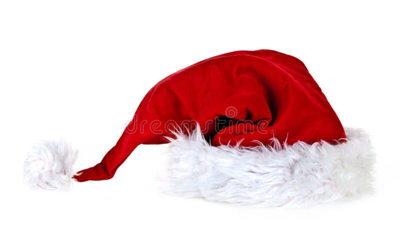 De hoed van Kerstmis stock foto