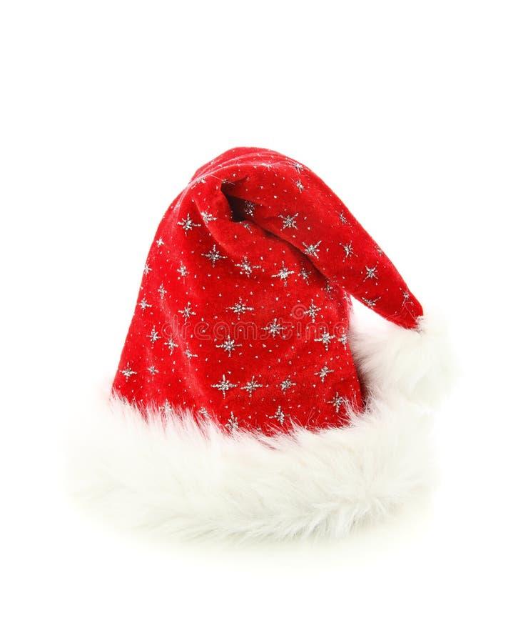 De hoeden van de Kerstman stock fotografie