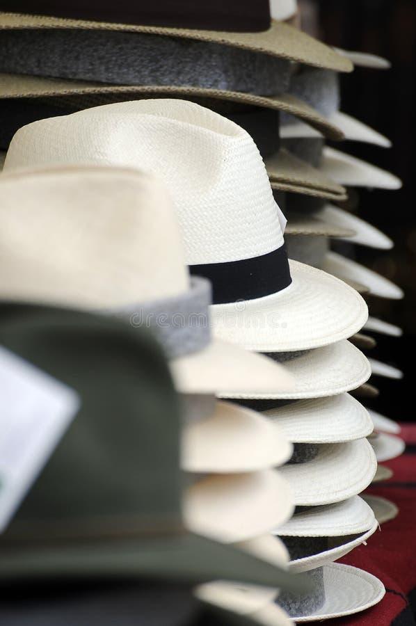De hoeden van Mens royalty-vrije stock afbeelding