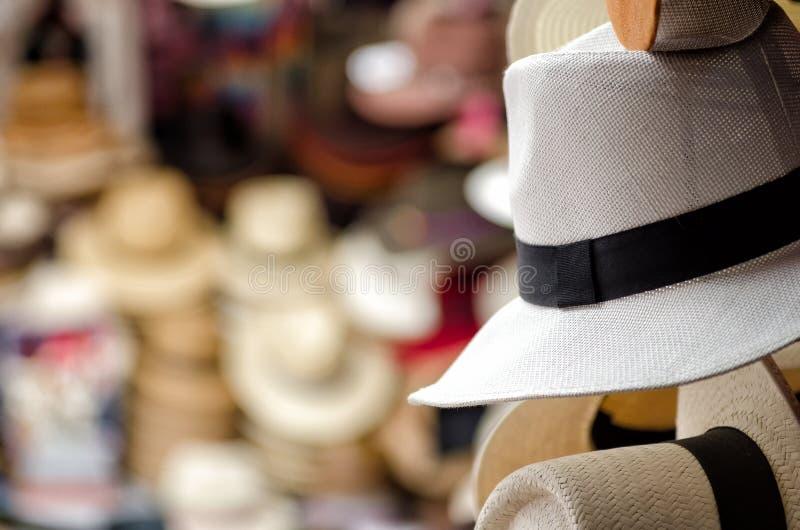 De hoeden van Panama royalty-vrije stock foto's