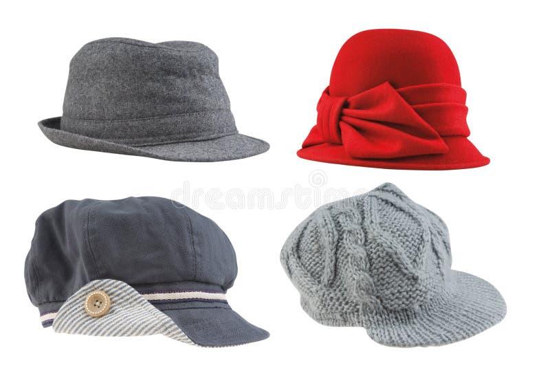 De hoeden van vrouwen royalty-vrije stock afbeelding