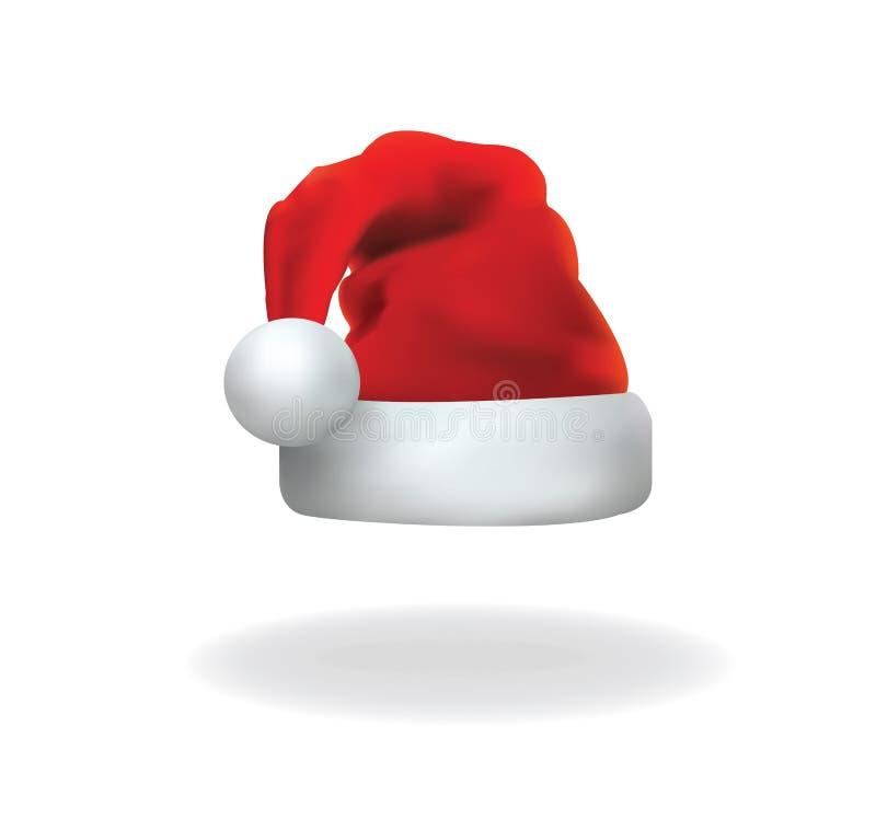 De hoedenvector van de Kerstman royalty-vrije illustratie
