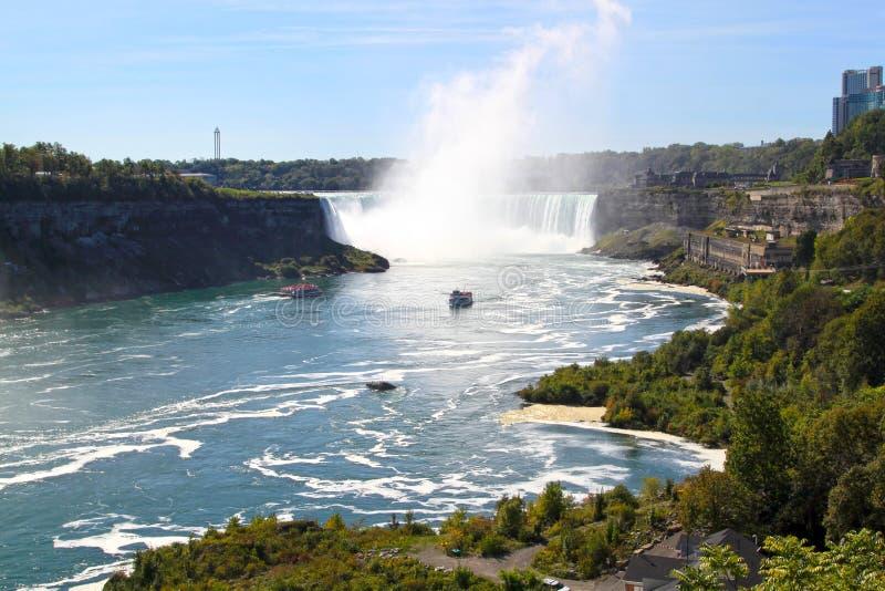 De Hoefijzerwaterval van Niagara-Dalingen royalty-vrije stock afbeeldingen