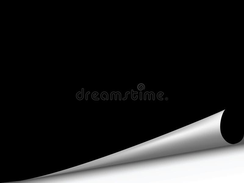 De hoek van de pagina vector illustratie