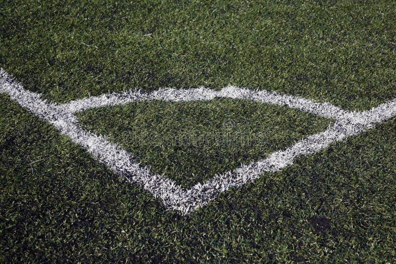Download De Hoek Van De Voetbalhoogte Het Merken Stock Afbeelding - Afbeelding bestaande uit hoek, gevoerd: 39101385