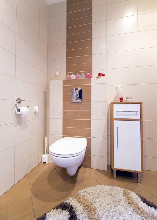 De hoek van het toilet. royalty-vrije stock fotografie