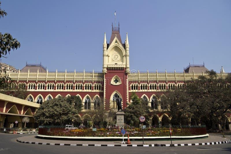 De Hoge rechtsinstantie van Calcutta stock afbeeldingen