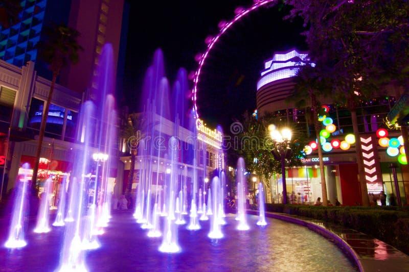 De Hoge Rol van Las Vegas royalty-vrije stock afbeelding