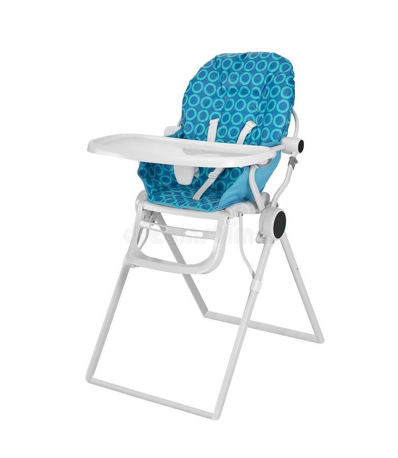 De hoge stoel van de baby royalty-vrije stock foto