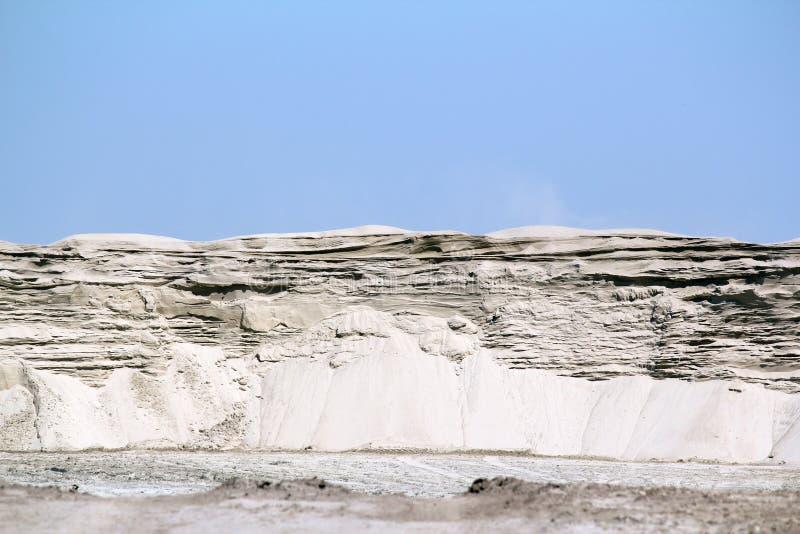 De hoge woestijn van het zandduin stock foto's