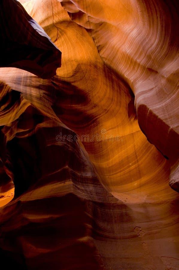 De hogere Canion van de Antilope royalty-vrije stock afbeeldingen