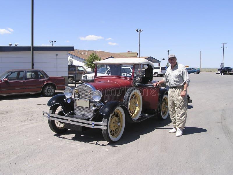 De hogere en uitstekende auto van 1928 royalty-vrije stock foto