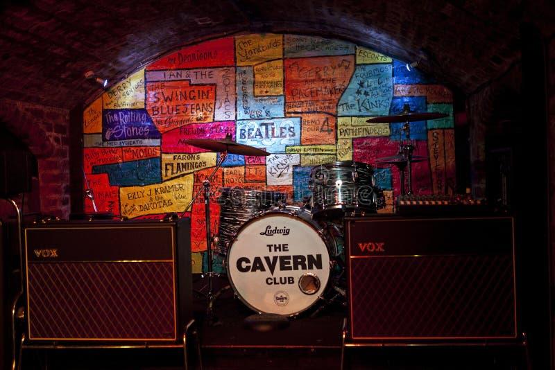 De Holclub in Liverpool stock foto