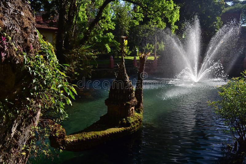 De holen van Choangdao en meren, Thailand royalty-vrije stock foto