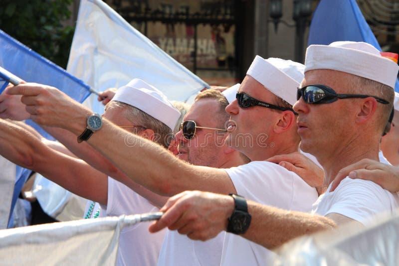 De homosexuelen van Zweden royalty-vrije stock foto's