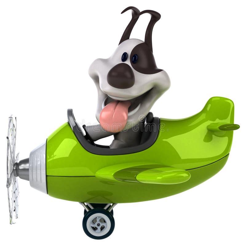 De hond van de pret vector illustratie