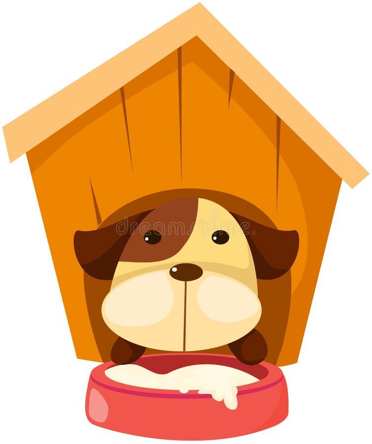 De hond van het puppy royalty-vrije illustratie