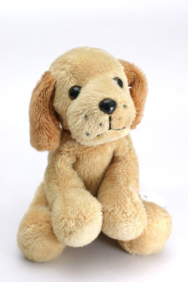 De hond van het zacht-speelgoed royalty-vrije stock afbeelding