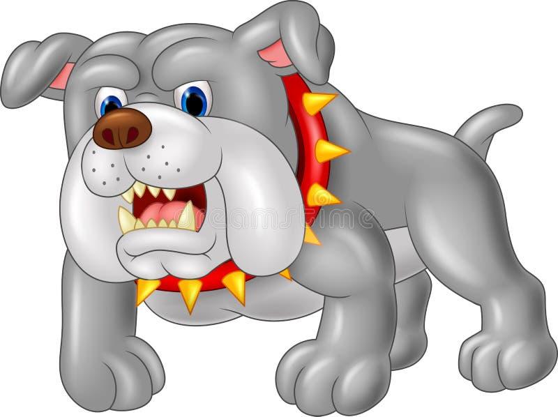 De hondhuis van de beeldverhaalwacht Illustratie vector illustratie