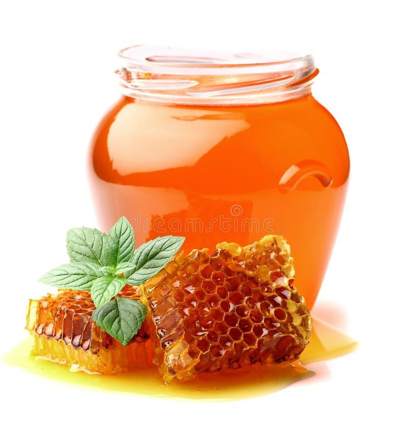 De honing van de munt royalty-vrije stock afbeeldingen