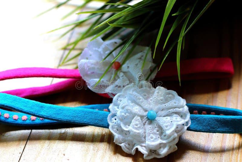 De hoofdbanden bloeien Creatieve Desing stock afbeeldingen