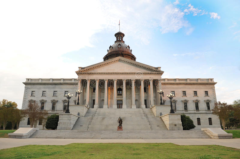 De HoofdBouw Staat van de Zuid- van Carolina stock fotografie